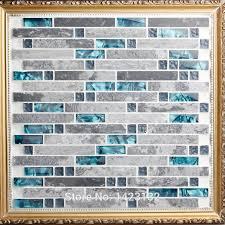 Emejing Blue Glass Backsplash Tile Photos Home Design Ideas - Gray glass tile backsplash