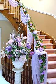 modern elegant design of the flower decoration in a house that has