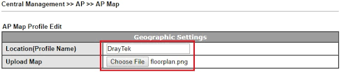 how to plan the wireless coverage by using ap map feature on ap