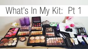 makeup kits for makeup artists makeup artist series updated what s in my kit pt 1 skincare