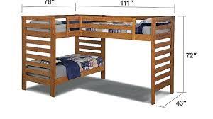 l shaped bunk beds with desk l shaped loft bunk beds kenfallinartist com