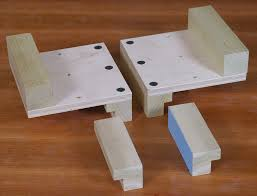 Wooden Bench Vice Parts by Shopsmith Accessory Vise Jaws