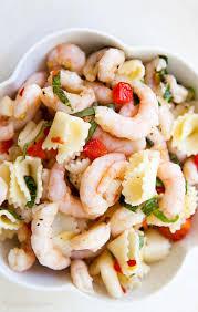 pasta salad recipes cold shrimp pasta salad recipe simplyrecipes com