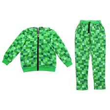 minecraft costume children boys minecraft costume autumn green
