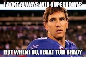 Manning Meme - eli manning superbowls memes quickmeme