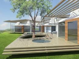 pictures modern one story house free home designs photos