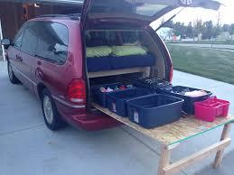 Camper Trailer Kitchen Ideas by Minivan Camper Google Search Basic Living Ideas Pinterest