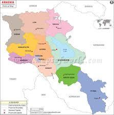 armenia on world map political map of armenia armenia provinces map