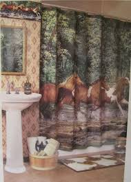 Horse Shower Curtains Sale Awesome Horse Shower Curtain Photos Interior Design Ideas