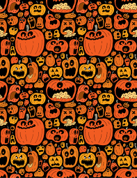 halloween cell phone wallpapers drawing patterns pumpkin pattern chris piascik zentangles