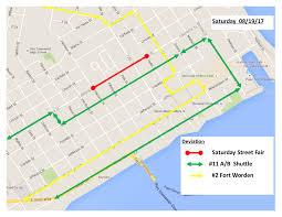 Seatac Map Rider Alert Uptown Street Fair Route Deviations Saturday August