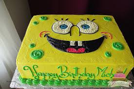 sponge bob cakes birthday cakes inspirational spongebob 1st birthday cake