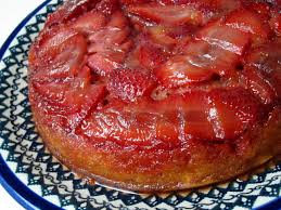 strawberry upside down cake las vegas food adventures
