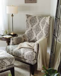 accent chair with ottoman patterned contemporary accent chair and ottoman mathis brothers