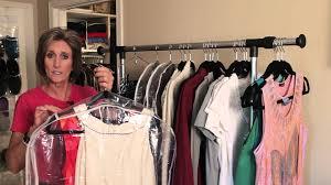 storage ideas for hanging clothing organizing with style youtube