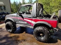jeep suzuki samurai for sale for sale suzuki samurai with a 12a u2013 engine swap depot