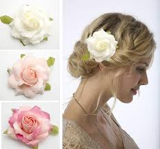 10px bridal hair flower flower clip wedding party bridesmaid