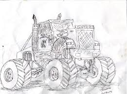 monster truck drawings thread page 7