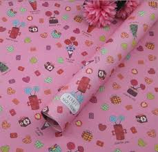 heart wrapping paper aliexpress buy printed wax paper 3sheet roll heart designs