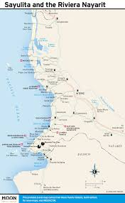 Map Of Puerto Vallarta Mexico by Sayulita Mexico Map Roundtripticket Me
