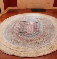 Braided Throw Rugs Capel Oval