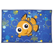 Nemo Bathroom Amazon Com Finding Nemo Bath Rug Kitchen U0026 Dining