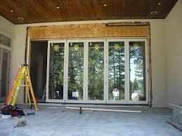 Backyard Sliding Door Patio Doors Door Sliding Patio Doors Wood Glass Large Outdoor