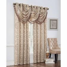 mainstays classic noir window curtains set of 2 walmart com