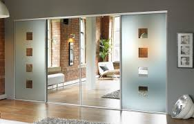 mirror design ideas beautiful looking sliding door mirrored