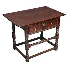 Oak Side Table Charles Ii Oak Side Table For Sale At 1stdibs