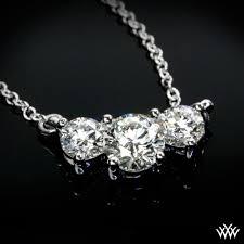 stone diamond necklace images Tandem 39 3 stone diamond pendant ready set to go 145 jpg