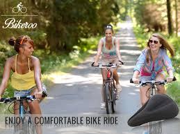 Most Comfortable Beach Cruiser Seat Bikeroo Comfortable Bike Saddles Seat Covers Apparel U0026 Accessories
