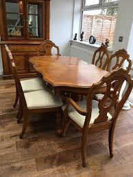 dining table 6 chairs and cabinet in totton hampshire gumtree