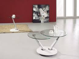 round glass coffee table modern modern round glass coffee table