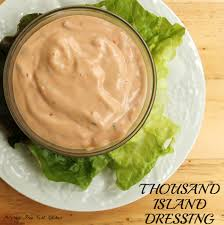 allergy free thousand island dressing and why it is named that