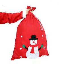 drawstring gift bags wholesale christmas drawstring gift bag santa sack canvas