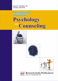 Counseling Psychology Research Articles Ijpc International Journal Of Psychology And Counseling Computer