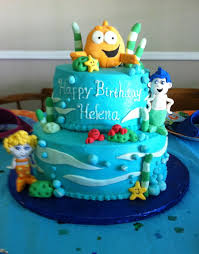 Bubble Guppies Decorations Bubble Guppies Birthday Cake Cakecentral Com