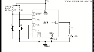 On Off Timer Circuit Diagram Beautiful Animated Demonstration Of Bistable Operation Of 555