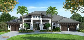 Mediterranean House Plans by Transitional West Indies Style House Plans By Weber Design Group