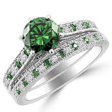 Engagement Wedding Ring Sets by Green Diamond Engagement Rings Wedding Rings U0026 Matching Sets