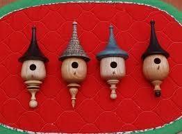 a wood turned christmas mini birdhouse ornaments pen u0026 small
