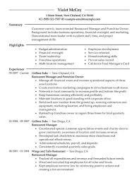 former business owner resume resume for your job application