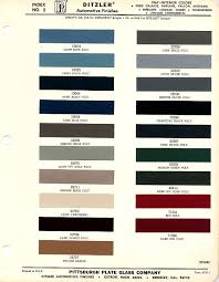 1967 mustang interior paint chip chart with paint codes maine