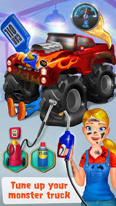 mechanic mike monster truck mania download free