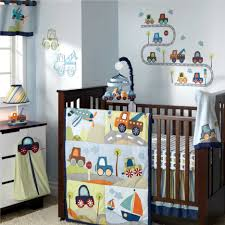 awesome baby boy nursery ideas with car design painting wall and