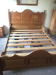 Santos Antique Pine Bed Frame Compequad Page 58 Antique Pine Bed Frame Traditional Metal