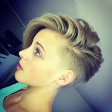 hair cuts that are shaved on both sides and long on the top for women short haircuts shaved on one side short hairstyles