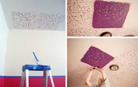 fancy room makeover stencil stories