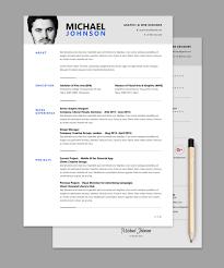 Resume Web Templates Resume Cv Template Psd Cv Templates Photoshop Freebie